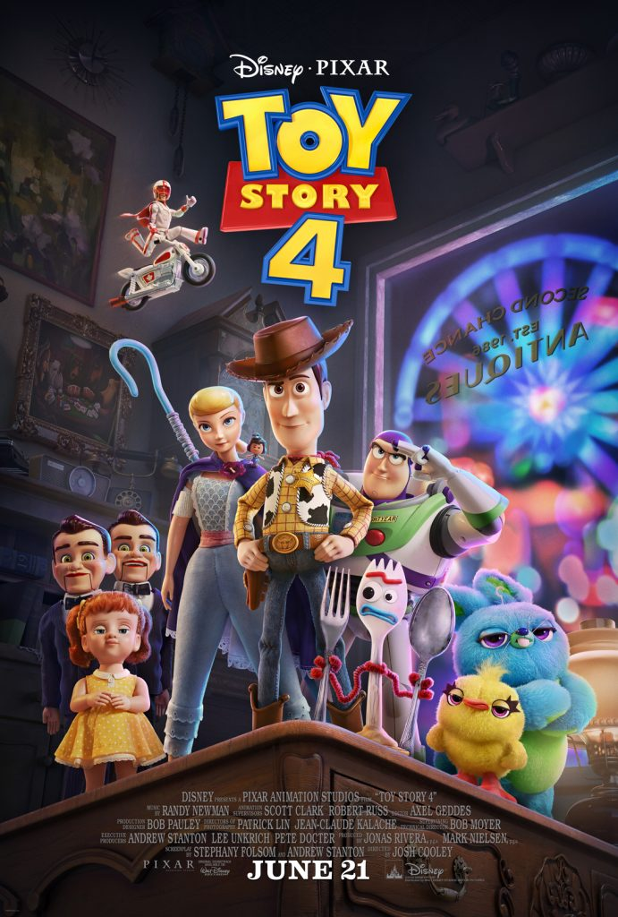Disney and Pixar's Toy Story 4 Movie Poster